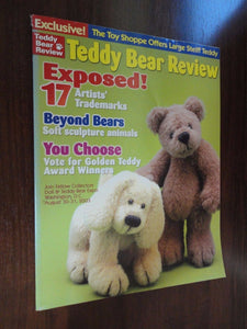 Teddy Bear Review Magazine Back Issue August 2003 Volume 18 Number 4
