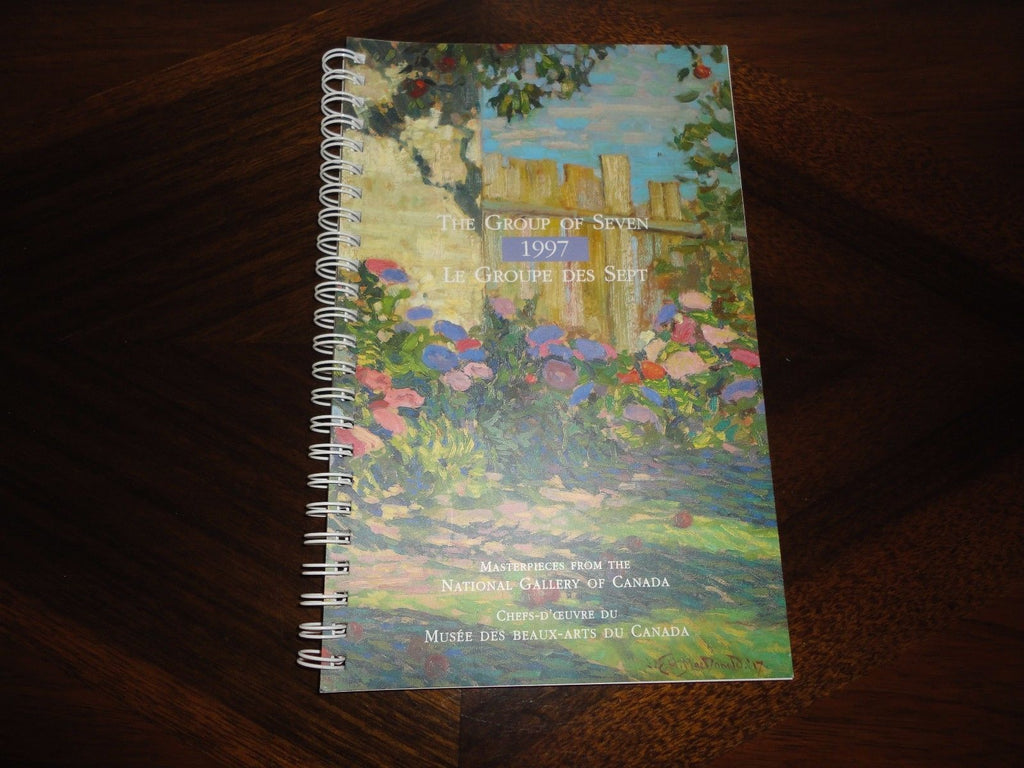 Art Notebook Group of Seven 1997 Masterpieces National Gallery of Canada