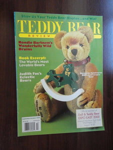 Teddy Bear Review Magazine Back Issue Sept / Oct 2000 Hermann / Punkinhead