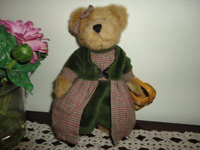 Boyds Bears RED RIDING HOOD Bear w Basket Handmade Retired Archive Series