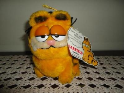 Dakin Vintage GARFIELD Graduation Cat Ground Nutshells
