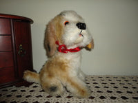 Antique Dog Stuffed Plush 9 inch