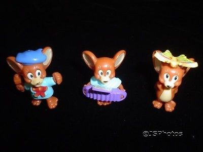 Hanna Barbera Tom & Jerry Kinder Egg Toy Lot 1998