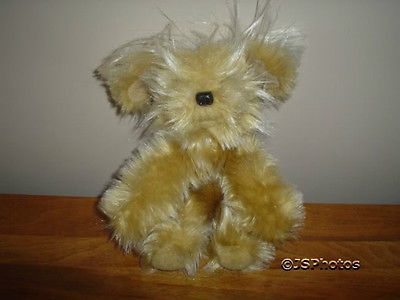 Russ Berrie Sparkle Terrier Dog  24051 9 inch Plush