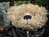 Born To Ride Ride To Live UK Motorcycle Bear