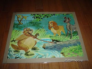 Lady and the Tramp Walt Disney Vintage Puzzle