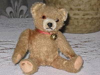 Antique Hermann Germany 1950's Mohair Bear 6.5 inch
