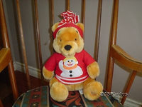Winnie The Pooh Bear Snowman Disney Store Exclusive 13