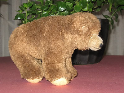 Hermann 1970s Brown Dralon Mohair 7 Inch Bear Cub