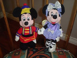 Disney Nutcracker Mickey & Sugarplum Fairy Minnie Dolls