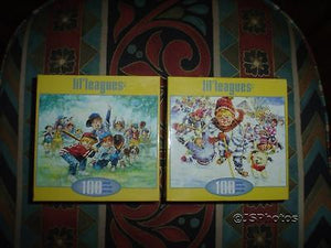 2 Baseball Hockey Jigsaw Puzzles Lil Leagues Canada Artist Steward Sherwood NEW