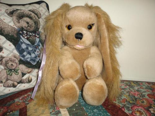 Applause POWDER PUP DOG Cocker Spaniel Vintage Stuffed Plush RETIRED