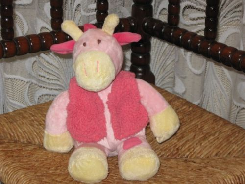 Eddy Toys Holland Soft Pink HORSE PONY Baby Plush Toy  Rare