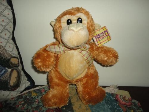 Preferred Plush Scruffy Collection MONKEY Stuffed Plush Toy