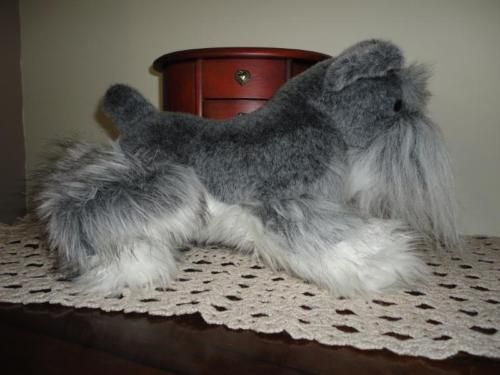 Douglas Cuddle Toy FRITZ SCHNAUZER Dog