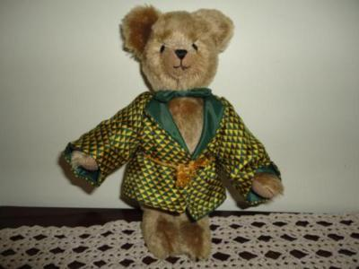 English Teddy Bear Co UK HANDMADE Humpback Mohair Bear 11 inch