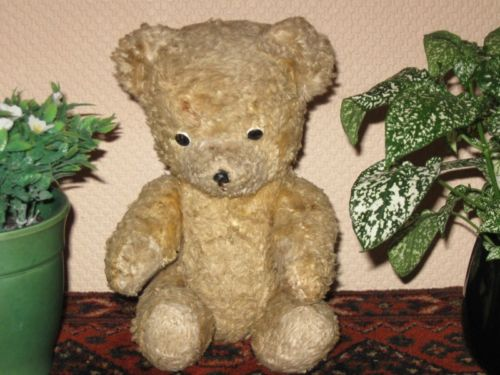 Old Antique 1930s Dutch Arthur Van Gelden Bear 30 cm 12 Inch
