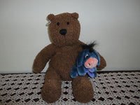 Baby Gap Wooly Brown Bear with Eeyore