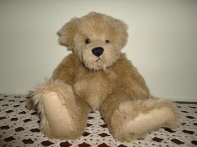 Ganz Cottage Collectibles ARTIST SUE COE Teddy Bear 1998 Handcrafted