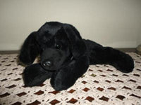 CNIB Institute for Blind BLACK LABRADOR DOG Plush