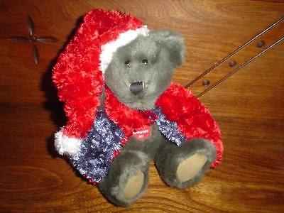 Musical Christmas Bear Plays Silent Night