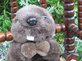 Dutch Holland Brown Stuffed Plush Beaver