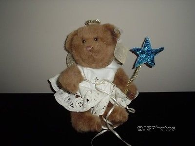 Russ Bears From The Past  Angel Bear Fully Jointed 1159