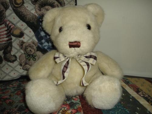 Russ Berrie CHADWICK Bear RETIRED Nr 728