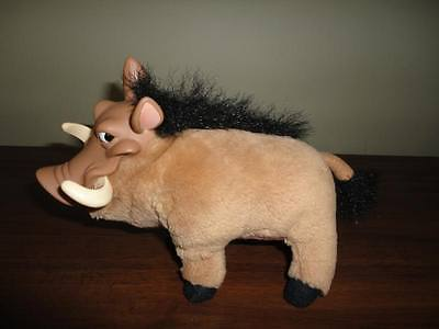 Disney Lion King Authentic PUMBAA Stuffed Warthog