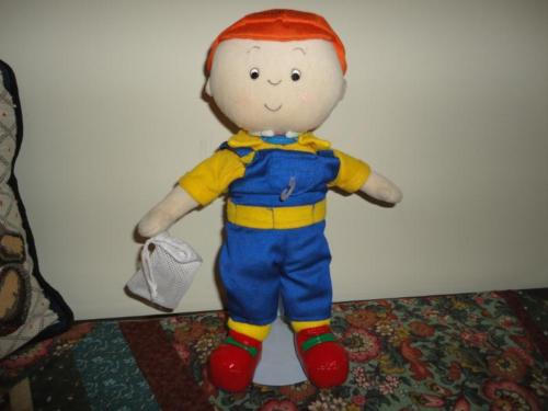 CAILLOU SOFT VELVET DOLL 2007 All Clothing 13 inches