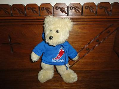 NHLPA Teddy Bear Handmade Forever Collectibles 8 Inch