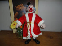 Wangs Intl CLOWN DOLL Cotton Muslin Rubber Face 12 inch