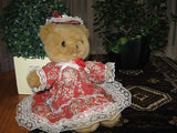 Tender Toys Holland Fully Dressed Flower Lady Bear