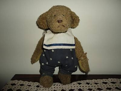 Ganz Jake Bear Brown Plush CC205 10 Inch Cottage Artist Carol Kirby 1995