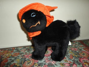 Sears Canada HALLOWEEN BLACK CAT Stuffed Plush