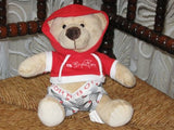 Bjorn Borg Authentic Teddy Bear Fun4All Holland Red White