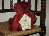 Deans Rag Book Cherry Pink Bear Centenary 1903 - 2003