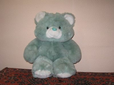 Dutch Holland German Vintage Mint Green Soft Teddy Bear