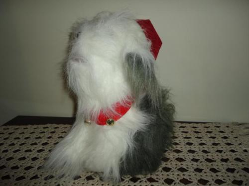 Singing Christmas Carols SHEEPDOG Battery Operated