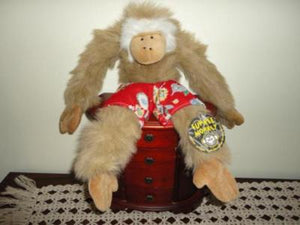 Funkee Monkey Screeching Talking Plush 15 inch Cancun