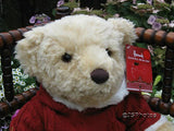 Harrods UK Large 13 Inch Christmas Bear Maxwell 2009