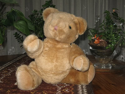 Anna Club Plush Holland 14 inch Classic Jointed Brown Teddy Bear 1992