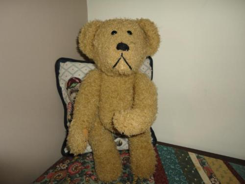 Creature Comforts LARGE Jointed BEAR 17 inch Sad Face