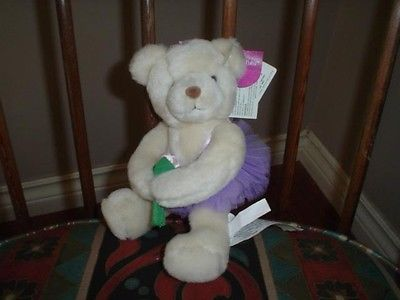 Russ Berrie Little Tutu Bear Ballet Hugs 3324 Wtags