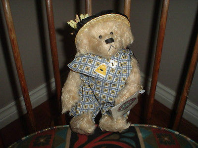 Ganz Cottage Collectibles Bianca Bear Limited Edition Artist Carol E. Kirby