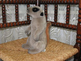 Anna Club Plush Holland WWF Collectible Meerkat 10 In. 26CM Leather Tagline 1986