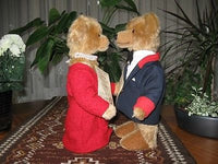 Hermann Germany Prince Charles & Camilla Wedding Bears