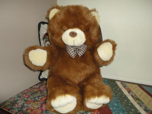 Best Made Toys Toronto Canada Vintage Teddy Bear ALL Tags 18 Inch
