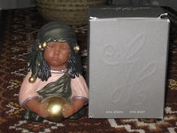 Annette Himstedt Sita Bust Doll Rubber Statue in Original Box 1997 Club Gift