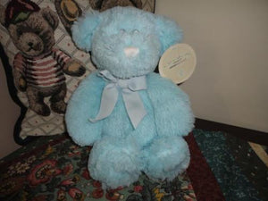 Baby Adventure Babies Blue Teddy Bear Age 0+ All Tags